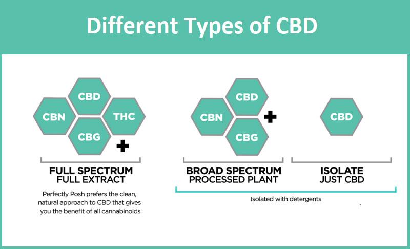 CBD Types